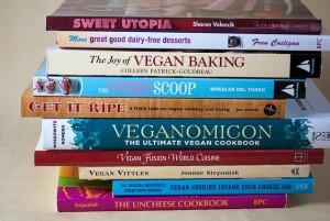 alcuni libri sull'alimentazione vegana